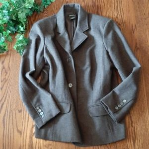 EDDIE BAUER like new pure wool classic blazer